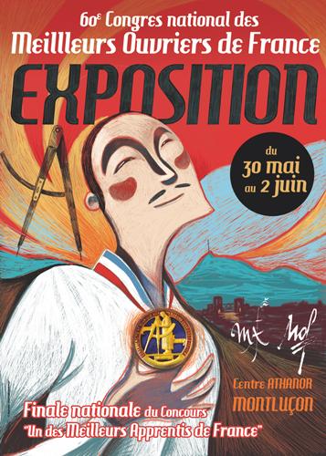 Meilleurs Ouvriers de France - Expo Montluçon