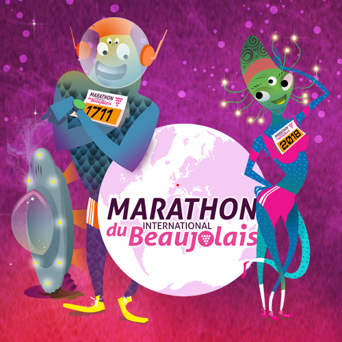 Marathon beaujolais 2018